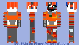 Scrap Baby (Made sooner than expected! ) Minecraft Skin