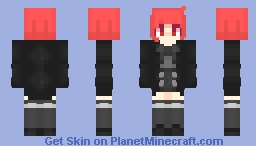Me in highschool thingy Minecraft Skin