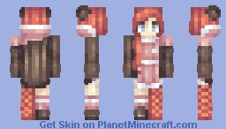 Strawberry Shortcake Minecraft Skin