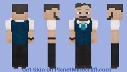 Ulysses Klaue (Black Panther) Minecraft Skin