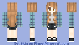 The Fun Girl Minecraft Skin