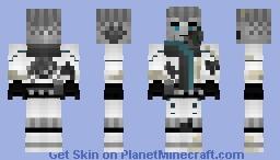 Broken Zane Ninjago SOG Minecraft Skin
