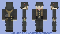 [WW1 1916] German Soldier Minecraft Skin