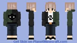 half & half Minecraft