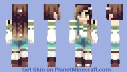 Botanical Stripes | Reshade contest | Round 2 Minecraft Skin