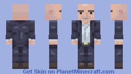 Comissario Montalbano Minecraft Skin