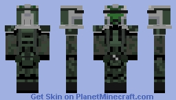 Commander Gree (alt in desc) Minecraft Skin