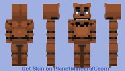 Freddy Fazbear Remaster | FNaF 1 [READ DESCRIPTION] Minecraft Skin