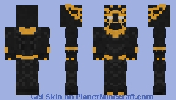 Golden Jaguar - MCU(looks better in 3d view) Minecraft Skin