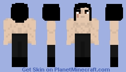 Ben Swolo (shirtless Kylo Ren) - Star Wars: The Last Jedi Minecraft