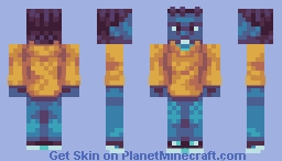 Kevin Abstract [19th] (contest palette in desc) Minecraft Skin