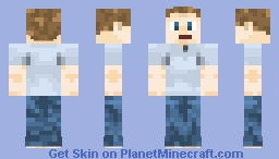 Mark Zuckerberg Minecraft Skin