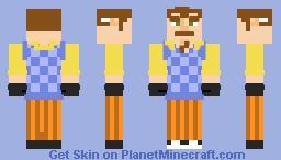 The Neighbor Minecraft Skin