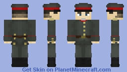 [WW1] German Officer Minecraft Skin