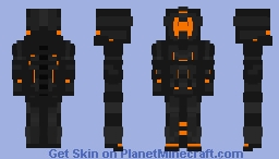 Obsidian Fury (Pacific Rim: Uprising) Minecraft Skin