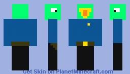 Parrot Cop Minecraft Skin