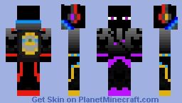 ender man boy Minecraft Skin