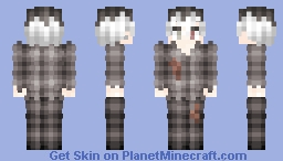 it's either I die, or I disappear. Minecraft Skin