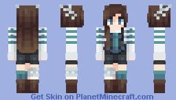 ★𝕮𝖍𝖊𝖊𝖗𝖎𝖔𝖔𝖘★ Our Same Word ~ Fanskin Minecraft Skin