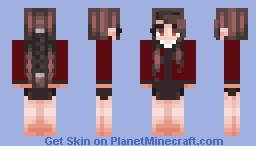 "Violet Baudelaire ""Memento Mori"" (New series) -The Austere Academy- Minecraft Skin"