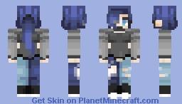 Split Through - RC Entry Minecraft Skin