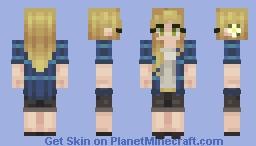 Spring Break! Minecraft Skin