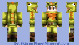 Fortnite Dino Outfit Minecraft Skin