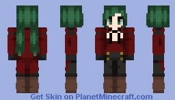 Steampunk vampire slayer Minecraft Skin