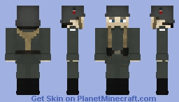 [WW1 1918] German Soldier Minecraft Skin