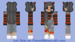 Trendy Devil Girl ಠ▃ಠ Minecraft Skin