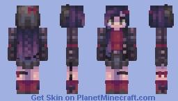 venus ✪ bloody borealis // skintrade w/ angel Minecraft Skin
