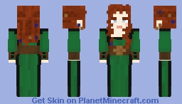 Witch from Hansel and Gretle Minecraft Skin