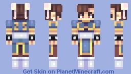 chun-li 春麗 Minecraft Skin