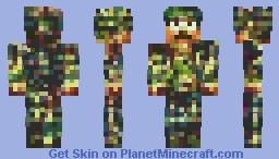 ₵Ø₥₥₳₦ĐØ - ѕσιℓ∂єя σf тнє αяму Minecraft Skin