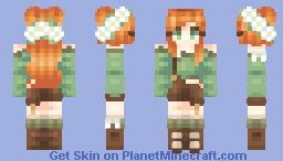 Alex || Remodel Minecraft Skin
