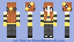 ❆𝓝𝓲𝓷𝓳𝓪𝓖𝓲𝓻𝓵2024❆ Queen Bee  (Requested) Minecraft