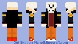 [Fell Swap]: Papyrus Minecraft Skin