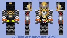 Kamen Rider Grease 仮面ライダーグリス Minecraft Skin