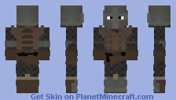 An Old Knight Minecraft Skin