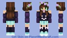 ♡ Pastel Goth ♡ Minecraft Skin