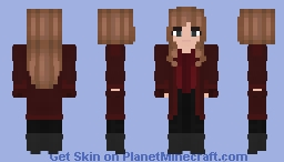 Avengers Infinity War - Scarlet Witch Minecraft