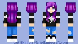 Raegan Moore || YurisEros Minecraft Skin