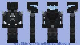 The Future Mercenary Minecraft Skin