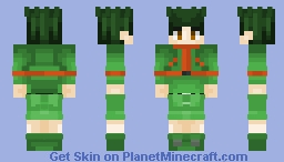 Gon - [Hunter x Hunter] Minecraft Skin