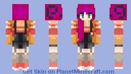Cherry tart  Minecraft Skin