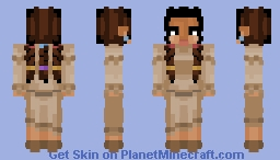 Native American Woman Minecraft