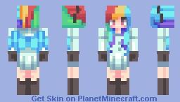 ♥мαηgℓє∂♥ Rainbow Factory Minecraft Skin