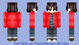 BTS - V ( Euphoria ) Minecraft Skin