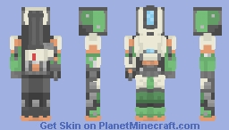 bastion from overwatch Minecraft Skin