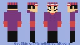 Dick Dastardly Minecraft Skin